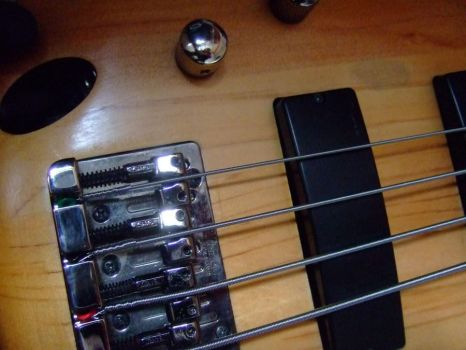 soundgear lefty sanded closeup by eclecticBassist
