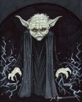 Darkside Yoda by ChrisOzFulton