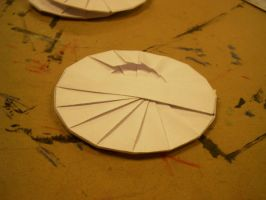 Oragami gift CD holder back by MuseumGirl
