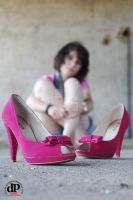 Pink Shoes by OttoMarzo