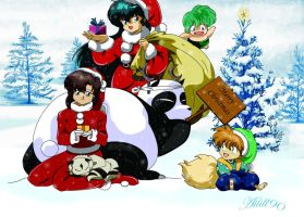 Merry Rumic Christmas by Ailill90