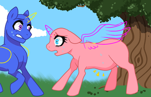 You're about to be a daddy! - Pony Base 13 by Arxielle
