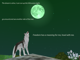 Howl of freedom by Twilightberry