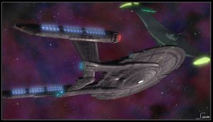 Romulan Encounter by celticarchie