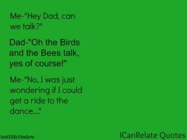 ICanRelate Quotes Why Dad? by SocKKitty