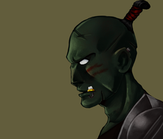 Painting practice-orc by RisingDiablo