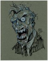 Zombie Quick Sketch by sketchheavy