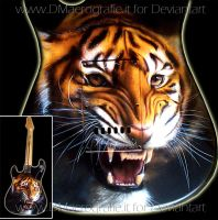 GUITAR-tiger by DMaerografie