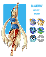 Fakemon: Elite 4 - No. 1 Water by MTC-Studio