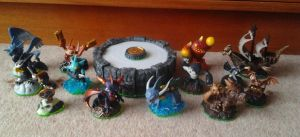 My Skylanders Collection So Far... Updated by IceyDragoness