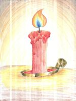 Candle Flame. by Virus-20