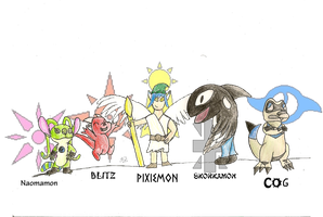 Digimon Battle RP by Supermeip