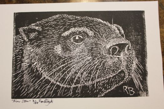 River Otter by nibblywolf