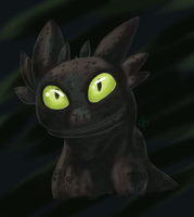 Toothless Bust by Fogdragon23