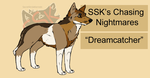SSK's Chasing Nightmares by SecretStrideKennels