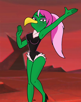 Looney Tunes -  Instant Martians Lady 02 by theEyZmaster
