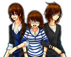 me you and him by AderiAsha