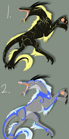 Draska Set - Point Auction - OPEN by Artha-Adopts