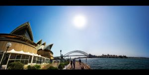 Opera House View by WiDoWm4k3r