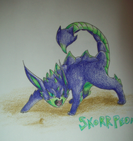 Fakemon: Skorppeon by IceCatDemon