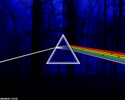 Pink Floyd Prism 1 Wallpaper by cbaoth235