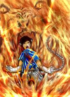 mori tiger of fire madness-col by theraven93