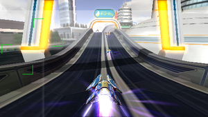 wipeout pulse PSP background 2 by GrimLink