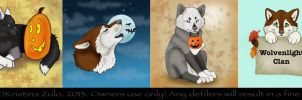 Fall Wolf COMMISSIONS ( SOLD) by NatsumeWolf