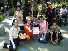 AX2005 Naruto Cosplay Group 2 by chuwei