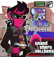 Grand theft Hellbent by Sniper-Huntress
