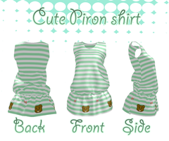 [MMD]Cute Piron Shirt DL by Amy-ChanNyah
