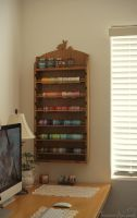 Washi Tape Holder Hung in My Art Room by TransientArt