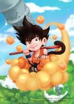 Little Son Goku by M4dneZZ