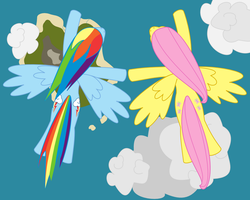 Flutterdash: Flying High by adcoon
