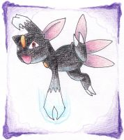 Sneasel by heather-may