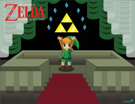 A toon link to the past by Artemisthefox
