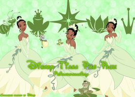 Disney Tiana Png Pack by Primadonnagirly