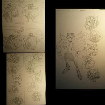 Sonic universe 84.var cover ideas.sketch and final by trunks24