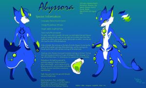 Abyssora Reference Sheet by LuckyLucario