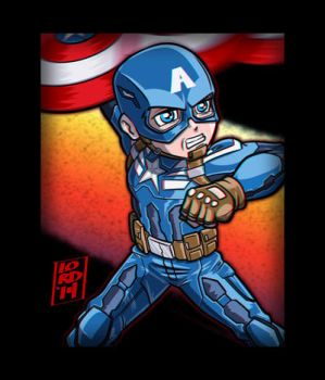 Cap 3D by lordmesa