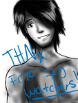 Thanks for 70 watchers!! :D by Starfire47Robin