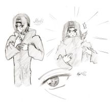 Itachi Sketches by Rairox64