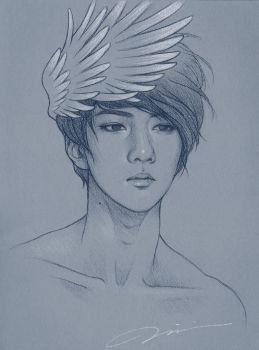 Angel Sehun by haut-talons