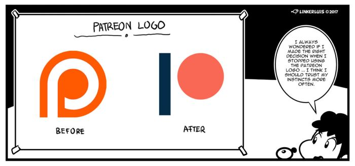 New patreon logo? by LinkerLuis