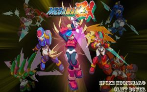 Megaman ZX Background 4 by Spyke89
