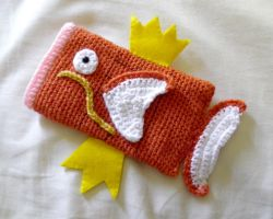 Magikarp 3DS Case by theCuddlyCephalopod