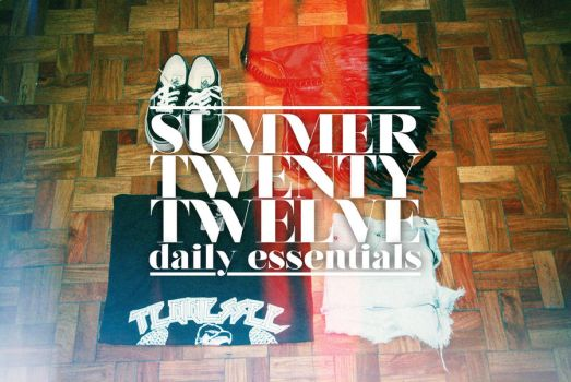 Summer Essentials by staticbliss