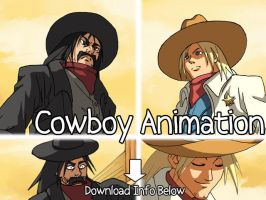 2D: Cowboy Animation by Risachantag