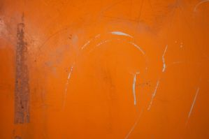 Scratched Orange Paint by stock-pics-textures