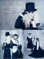 Malice Mizer cosplay by Lady-I-Hellsing